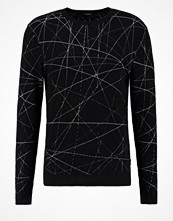 Tröjor & cardigans - Calvin Klein SATOLI Stickad tröja black