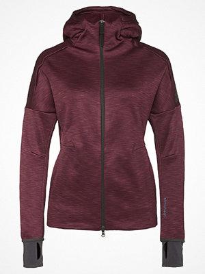 Sportjackor - Adidas Performance ZNE HEAT  Sweatshirt maroon