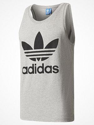 Linnen - Adidas Originals TREFOIL Linne medium grey heather