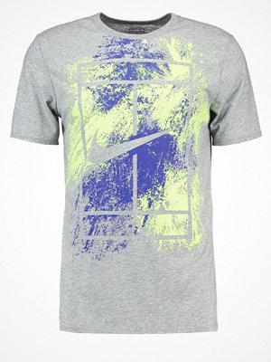 Sportkläder - Nike Performance Funktionströja dark grey heather/paramount blue