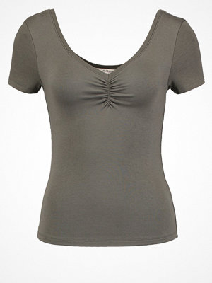 Miss Selfridge Tshirt bas dark green