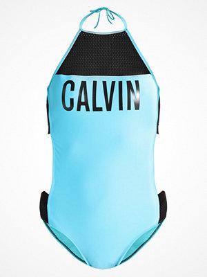 Baddräkter - Calvin Klein Swimwear INTENSE POWER Baddräkt blue
