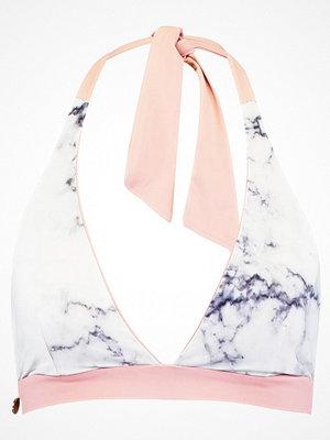 Lilliput & Felix ADAGIO  Bikiniöverdel dusty rose/white marble