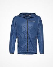 Regnkläder - Adidas Performance TERREX AGRAVIC ALPHA  Outdoorjacka core blue
