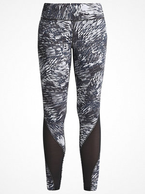 Sportkläder - Nike Performance POWER EPIC LUX Tights dark grey/black/reflective silver