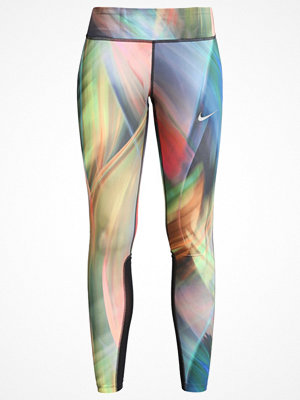 Sportkläder - Nike Performance POWER EPIC Tights light photo blue/black/reflective silver