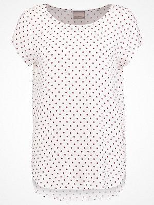 Vero Moda VMBOCA  Tshirt med tryck snow white/zinfandel