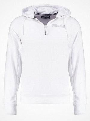 Tröjor & cardigans - Nike Sb Sweatshirt white/wolf grey