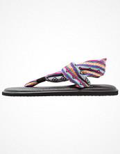 Sanuk YOGA SLING 2 PRINTS Flipflops magenta/multicolor