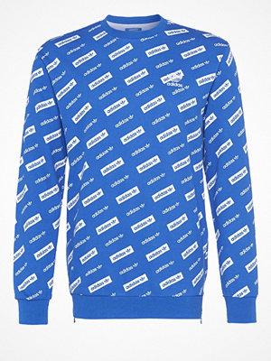 Tröjor & cardigans - Adidas Originals LINEAR CREW  Sweatshirt blue