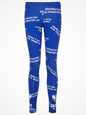 Leggings & tights - Adidas Originals TREFOIL Leggings blue/white