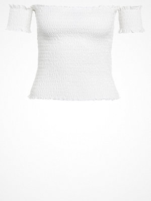 Vero Moda VMSIA Tshirt med tryck snow white