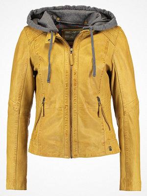 Oakwood Skinnjacka dark yellow