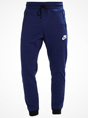 Sportkläder - Nike Sportswear Träningsbyxor binary blue/heather/white