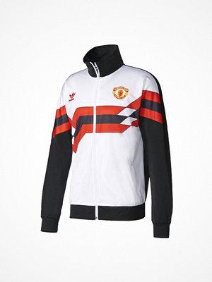 Sportjackor - Adidas Originals MANCHESTER UNITED  Träningsjacka white/black