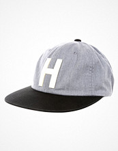 Kepsar - Herschel HARWOOD Keps heathered grey/black