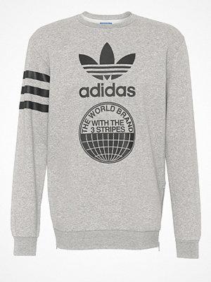 Tröjor & cardigans - Adidas Originals Sweatshirt medium grey heather