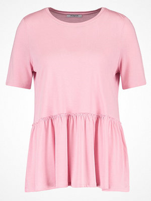 Pieces PCACI Tshirt med tryck cameo pink