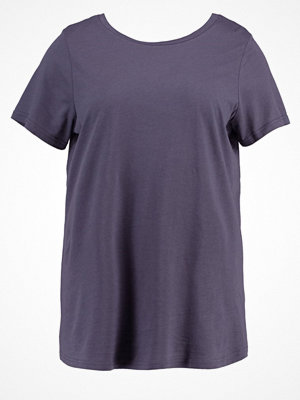 New Look Curves Tshirt med tryck charcoal