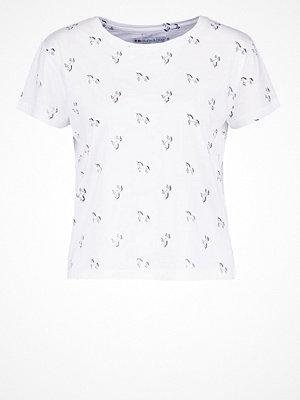 Even&Odd Tshirt med tryck white