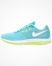 Sport & träningsskor - Nike Performance ZOOM WINFLO 4 Löparskor stabilitet chlorine blue/white/hyper turquoise