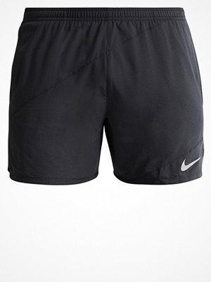 Sportkläder - Nike Performance FLEX DISTANCE Träningsshorts black/reflective silver