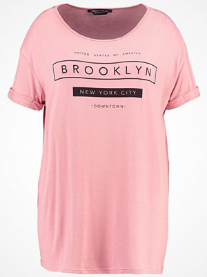 Dorothy Perkins Curve MOTIF Tshirt med tryck peach