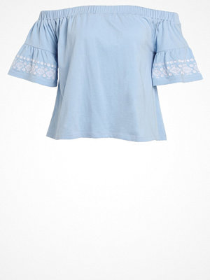 Even&Odd COLD Tshirt med tryck light blue