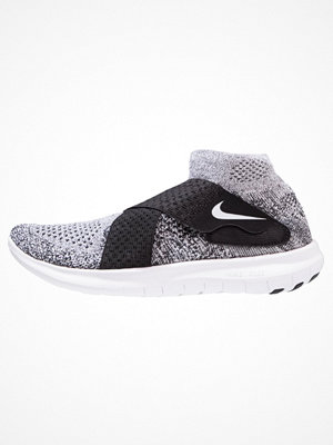 Sport & träningsskor - Nike Performance FREE RUN MOTION FLYKNIT 2017 Löparskor black/white/pure platinum/wolf grey