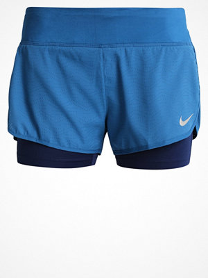 Sportkläder - Nike Performance RIVAL 2IN1 Träningsshorts industrial blue/binary blue/reflective silver