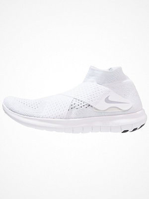 Sport & träningsskor - Nike Performance FREE RUN MOTION FLYKNIT 2017 Löparskor white/wolf grey/pure platinum