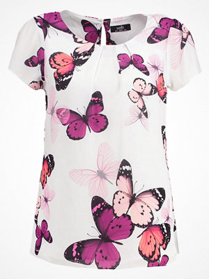 Wallis BUTTERFLY Tshirt med tryck ivory