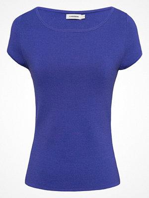 J. Lindeberg MILDRED SHARP Stickad tröja dark blue/purple