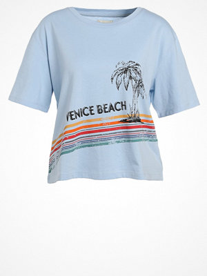 TWINTIP Tshirt med tryck light blue