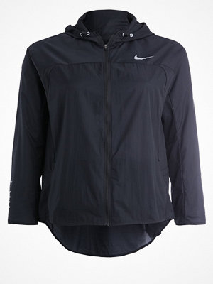 Nike Performance IMPLICITY Löparjacka black/reflective silver