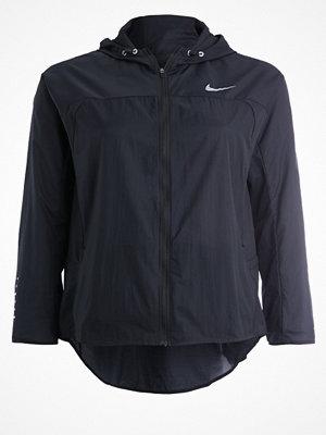 Nike Performance IMPLICITY Löparjacka black/reflective silver