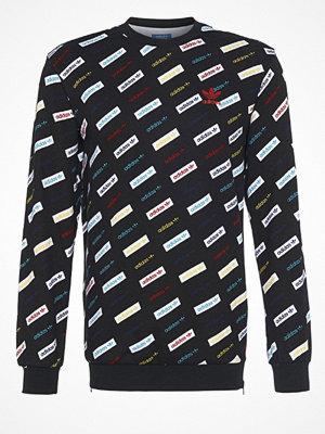 Tröjor & cardigans - Adidas Originals LINEAR CREW  Sweatshirt black
