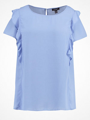 New Look Curves Tshirt med tryck pottery blue