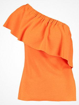 Warehouse Tshirt med tryck orange