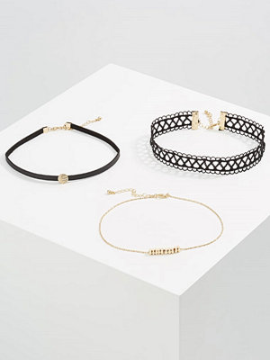 Smycken - Only ONLALI 3 PACK Halsband black