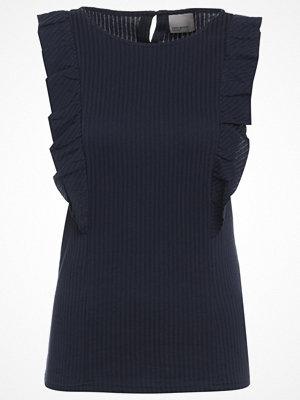 Vero Moda VMLAURA Tshirt med tryck navy blazer