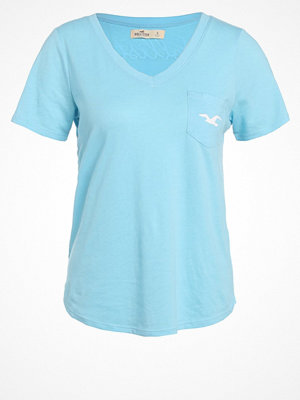 Hollister Co. Tshirt med tryck blue