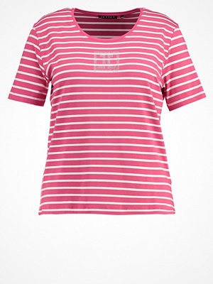 JETTE Tshirt med tryck raspberry/real white