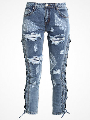 Glamorous Jeans Skinny Fit blue acid wash