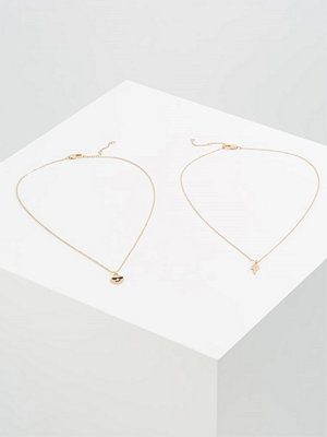 Smycken - Only ONLARYA 2 PACK  Halsband goldcoloured