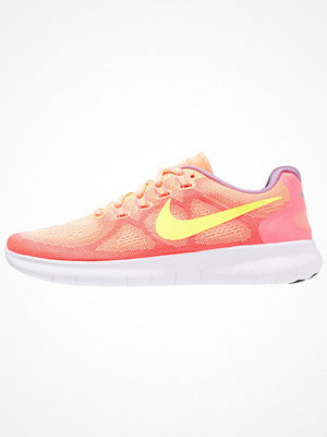 Sport & träningsskor - Nike Performance FREE RUN 2017 Löparskor sunset glow/volt/hot punch/violet