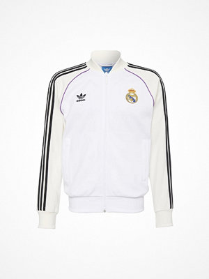 Sportjackor - Adidas Originals REAL MADRID Träningsjacka white/off white