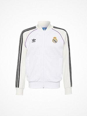 Sportjackor - Adidas Originals REAL MADRID Träningsjacka white/off white