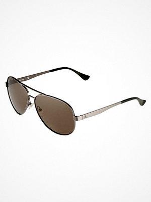 Solglasögon - Calvin Klein Solglasögon shiny gunmetal