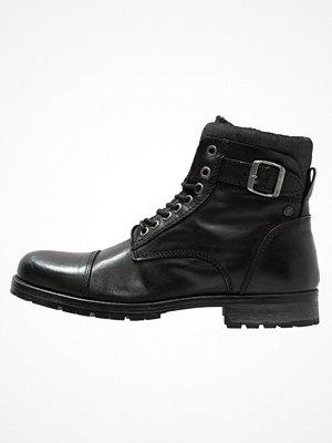 Boots & kängor - Jack & Jones JFWALBANY  Snörstövletter black